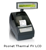 Drukarka fiskalna Posnet Thermal FV LCD