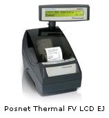Drukarka fiskalna Posnet Thermal FV LCD EJ