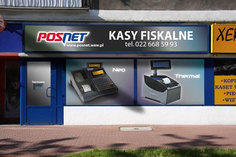 Salon Sprzedaży Posnet w Warszawie - ul. Grójecka 122